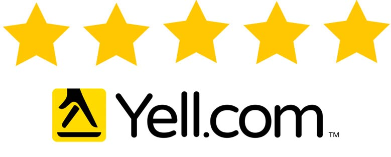 5 Star Review Yell.com