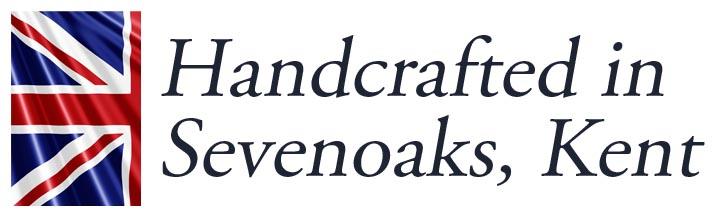 Handcrafted in Sevenoaks, Kent